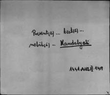 Kartoteka Słownika staropolskich nazw osobowych; Ks - Ku-