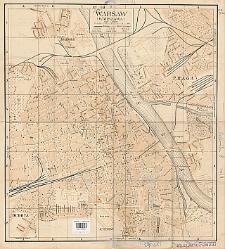 Warsaw (Warszawa) : [city map]