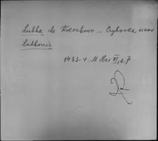 Kartoteka Słownika staropolskich nazw osobowych; Łu - Ły