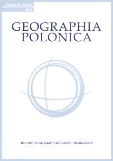 Geographia Polonica Vol. 93 No. 2 (2020), Contents