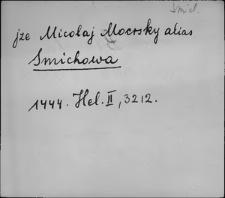 Kartoteka Słownika staropolskich nazw osobowych; Materiał wyłączony Smi - Świg