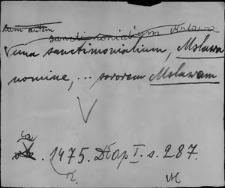 Kartoteka Słownika staropolskich nazw osobowych; Ms-