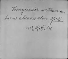 Kartoteka Słownika staropolskich nazw osobowych; Ob - P