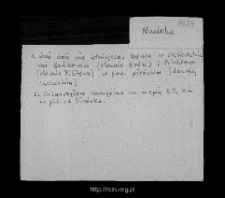 Nadolna. Files of Sochocin district in the Middle Ages. Files of Historico-Geographical Dictionary of Masovia in the Middle Ages