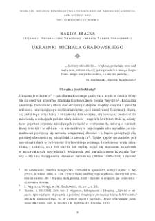 Ukrainki Michała Grabowskiego