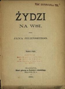 Żydzi na wsi