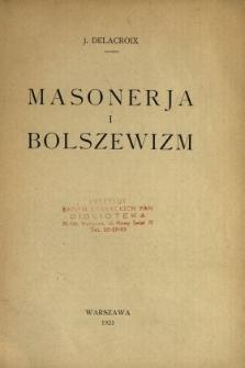 Masonerja i bolszewizm