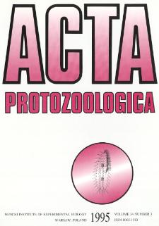 Acta Protozoologica, Vol. 34, Nr 3 (1995)