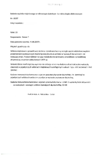 Kartoteka przypadków klinicznych chorób nerwowo-mięśniowych (2007) - opis nr 19/07