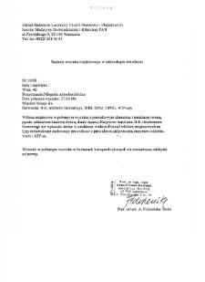 Files for neuromuscular diseases (2009) - nr 19/09