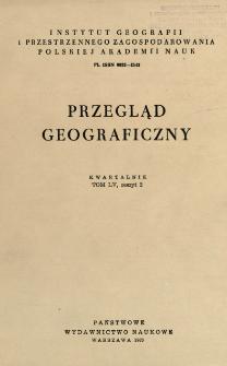 Przegląd Geograficzny T. 55 z. 2 (1983)