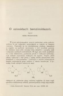 O azimidach benzimidazoli