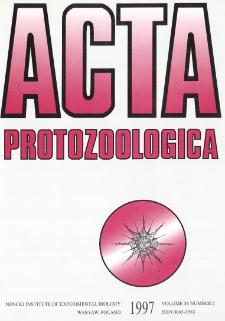 Acta Protozoologica, Vol. 36, Nr 1 (1997)