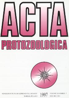 Acta Protozoologica, Vol. 36, Nr 2 (1997)