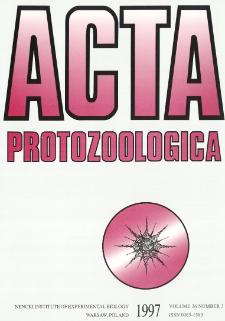 Acta Protozoologica, Vol. 36, Nr 3 (1997)