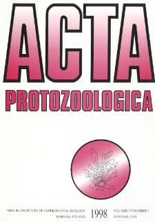 Acta Protozoologica, Vol. 37, Nr 1 (1998)