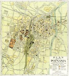Plan miasta Poznania : z uwzględnieniem terenów Powszechnej Wystawy Krajowej w r. 1929