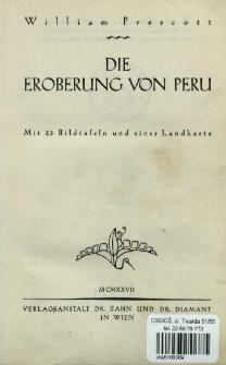 Die Eroberung von Peru