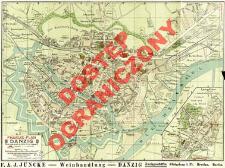Pharus-Plan Danzig mit Langfuhr