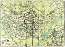 Plan wolnego miasta Gdańska : skala 1:8 000