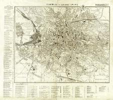 Stadtplan von Lemberg (Lwowa)