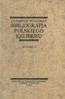 Bibljografja polskiego exlibrisu