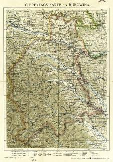 G. Freytags Karte der Bukowina