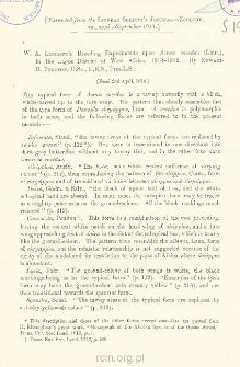 W. A. Lamborn's Breeding Experiments upon Acroea encedon (Linn.), in the Lagos District of West Africa, 1910-1912