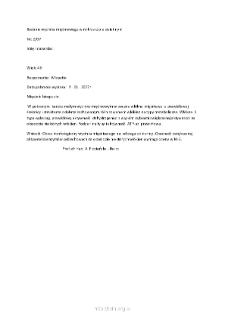 Kartoteka przypadków klinicznych chorób nerwowo-mięśniowych (2007) - opis nr 2/07