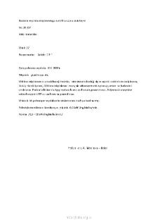 Kartoteka przypadków klinicznych chorób nerwowo-mięśniowych (2007) - opis nr 39/07