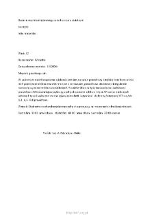 Kartoteka przypadków klinicznych chorób nerwowo-mięśniowych (2006)- opis nr 8/06