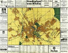 Stadtplan von Köslin