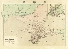 Carte de la Crimée : pour l' Intelligence des Opérations Militaires