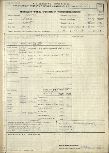 Miesięczny wykaz spostrzeżeń meteorologicznych. Maj 1950