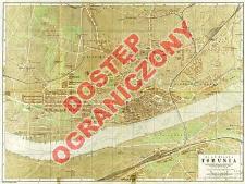 Plan miasta Torunia