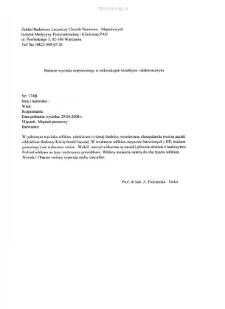 Kartoteka przypadków klinicznych chorób nerwowo-mięśniowych (2008) - opis nr 17/08