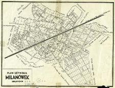 Plan letniska Milanówek