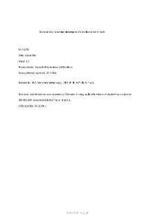 Files for neuromuscular diseases (2009) - nr 23/09