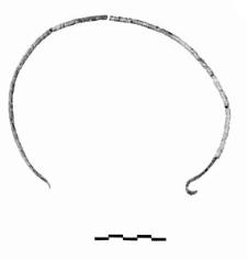 naszyjnik ze skręconym drutem 5 fragmentow (Rokosowo) - analiza metalograficzna