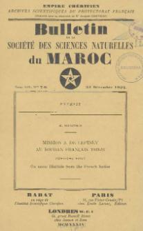 Mission J. De Lépiney au Soudan Français 1933-34 (Onzième Note) : On some Blattids from the French Sudan