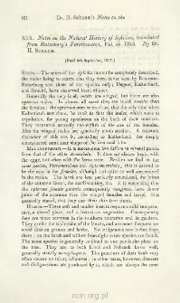 Notes on the Natural History of Aphides, translated from Ratzeburg's Forstinsecten, Vol. III, 1844