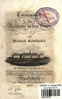 Taschenbuch für Reisende in den Harz