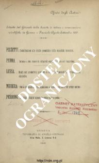 Estratto dàl Giornale della Socirtà di letture e coversazioni scientifiche in Genova : Fascicolo Agosto-Settembre 1887