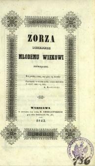 Zorza : dziennik młodemu wiekowi poświęcony