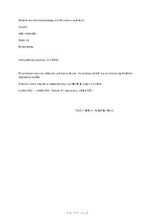Kartoteka przypadków klinicznych chorób nerwowo-mięśniowych (2005) - opis nr 4/05