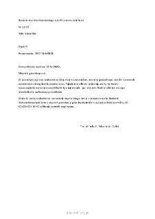 Kartoteka przypadków klinicznych chorób nerwowo-mięśniowych (2005) - opis nr 12/05