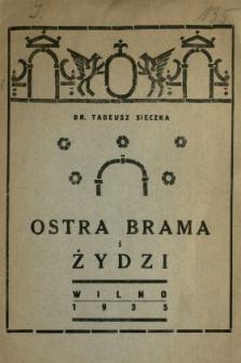 Ostra Brama i Żydzi