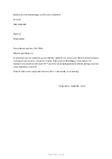 Kartoteka przypadków klinicznych chorób nerwowo-mięśniowych (2005) - opis nr 31/05