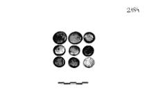buttons 9 pcs (Silnowo) - metallographic analysis
