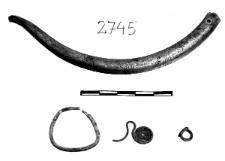 necklace fragment (Nowe Czarnowo) - metallographic analysis